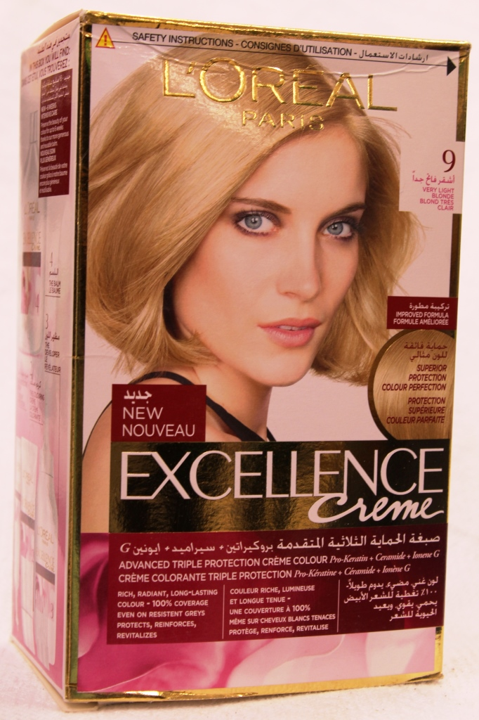 Loreal Excellence Hair Color Cream 9 172ml
