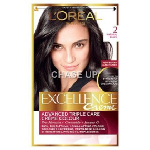 Loreal Excellence Creame Hair Color 2.0 172ml