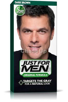 Just For Men Black Head Hair Color Dark Brown 60ml