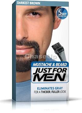 Just For Men Beard Hair Color Darkest Brown 60ml