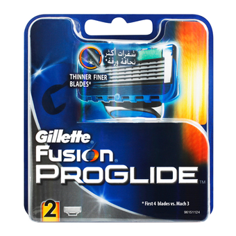 Gillette Fusion Proglide Cartridges 2pcs (Atco)