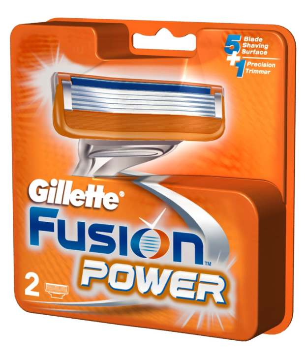 Gillette Fusion Proglide Power Cartridges 2pcs (Atco)