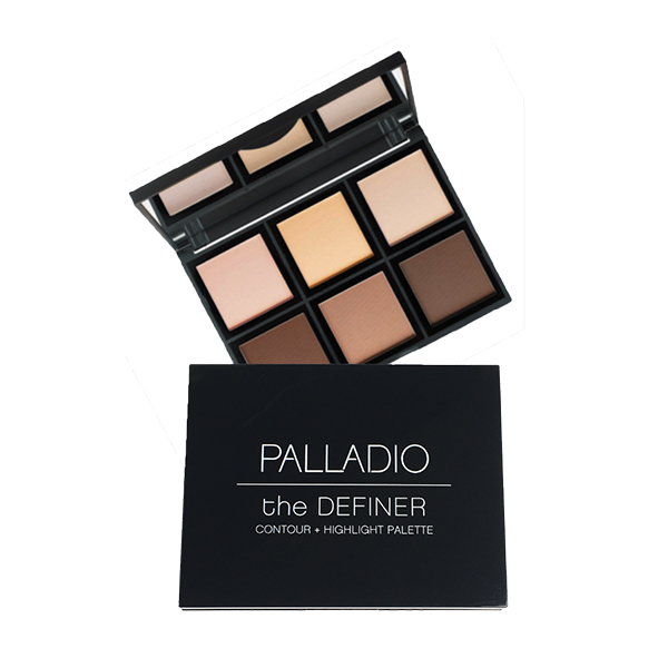 Palladio The Definer Palette Contour & Highlighter DEFP-01 18gm