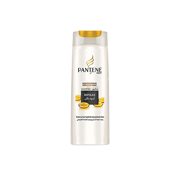 Pantene Deep Black Shampoo 400ml