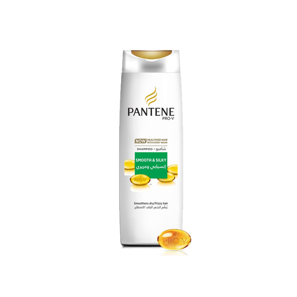 Pantene Smooth & Silky Shampoo 340ml