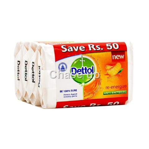 Dettol Re Energizer Soap Promo Pack 100gm 3pcs