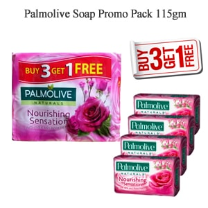 Palmolive Soap Promo Pack 115gm 4pcs