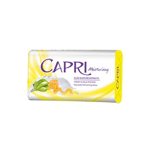 Capri Aloe Vera Honey Soap (White) 70gm (NP)