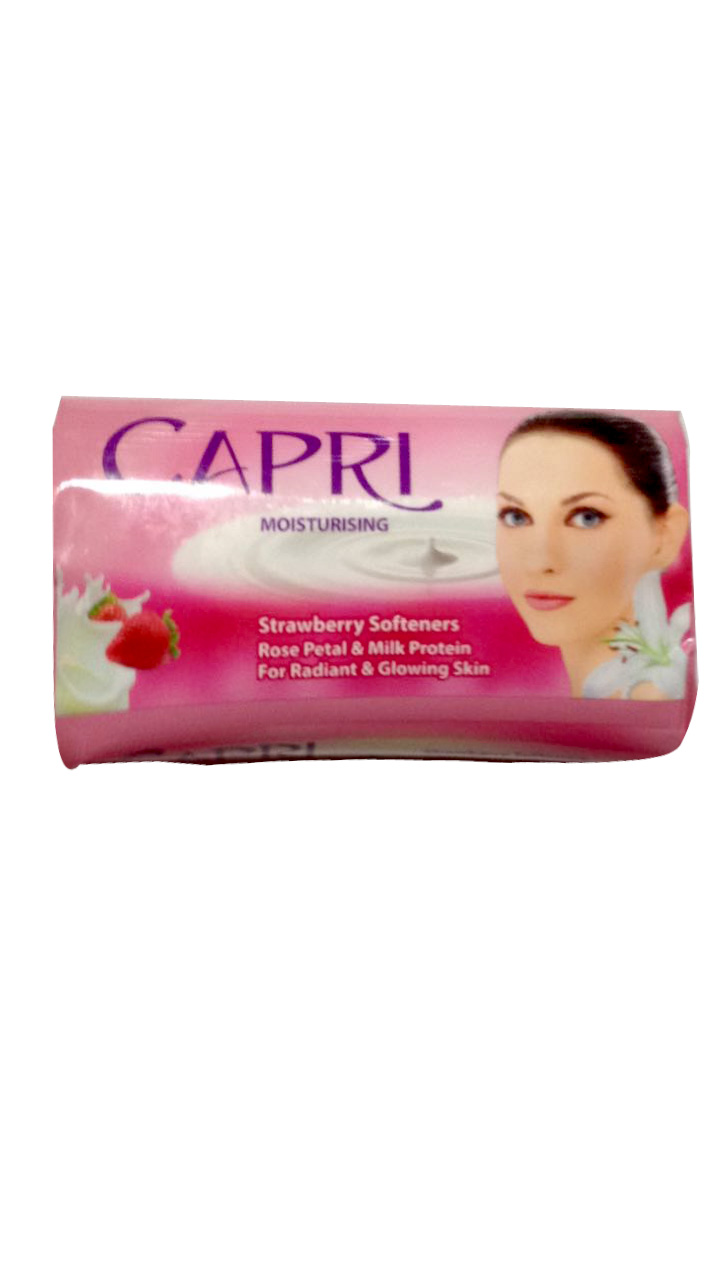 Capri Rose Petal And Strawberry Soap (Pink) 115gm (NP)