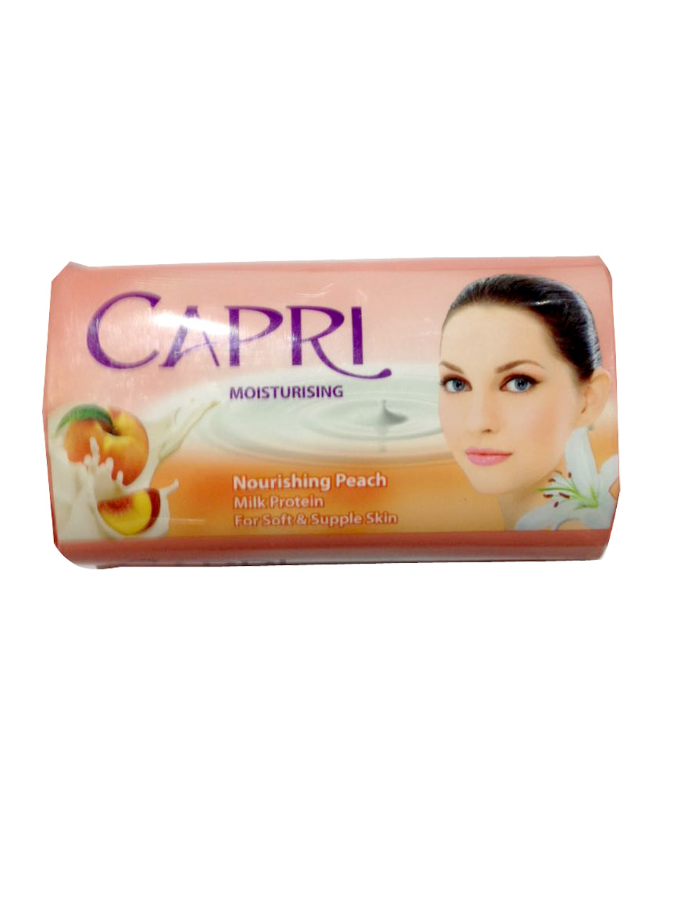 Capri Nourishing Peach Soap 115gm (NP)