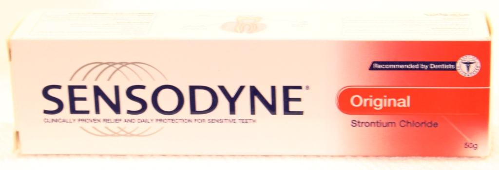 Sensodyne Original Tooth Paste 50ml (gsk)