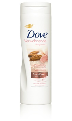 Dove Mandelmilch Almond Body Lotion 400ml