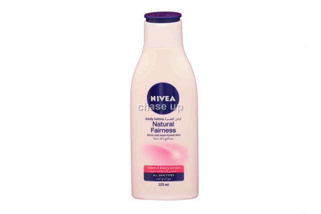 Nivea Natural Fairness Body Lotion 125ml