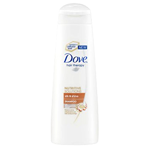 Dove Silk & Sleek Shampoo 250ml (UK)
