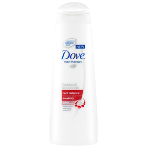 Dove Heat Defence Shampoo 250ml (UK)