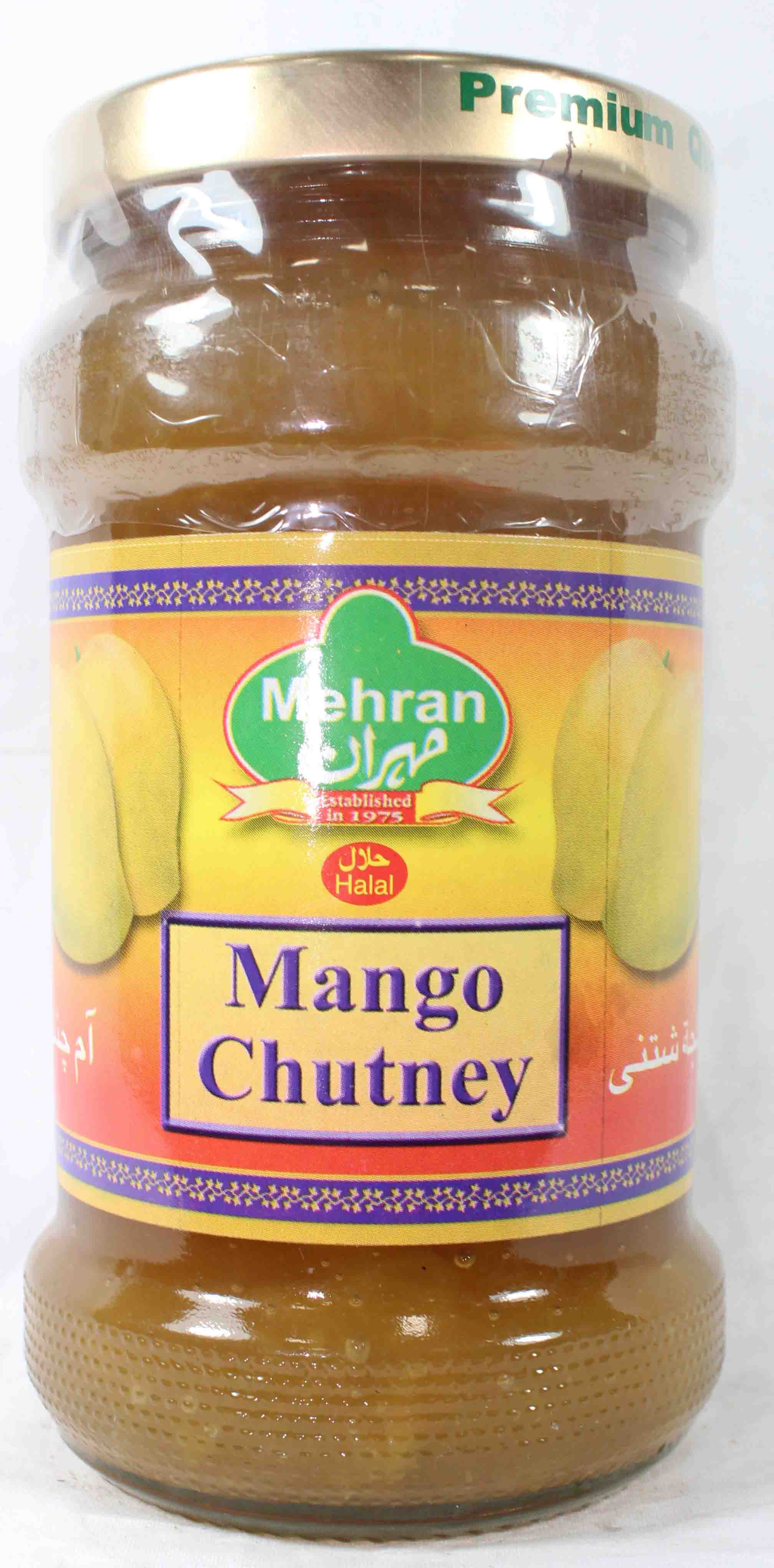 Mehran Mango Chutney Bottle 320gm