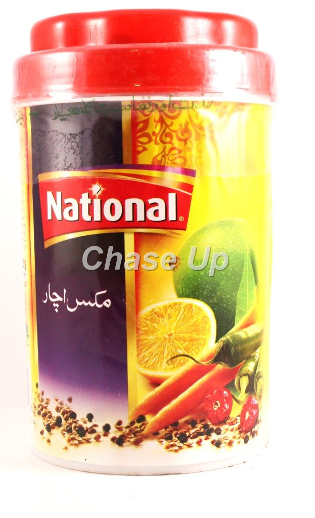 National Mixed Pickle Jar 1kg