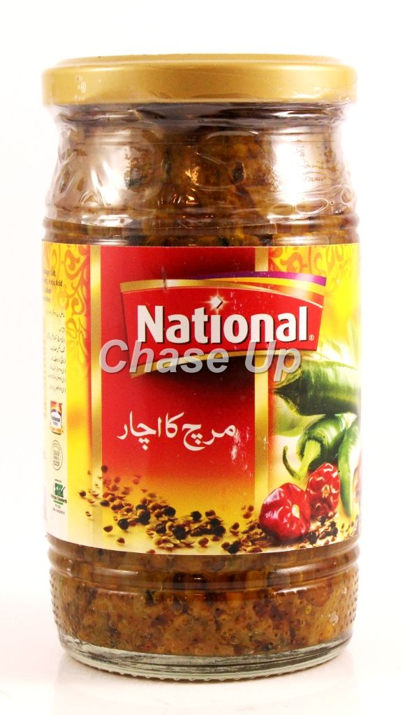 National Chilli Pickle Bottle 310gm