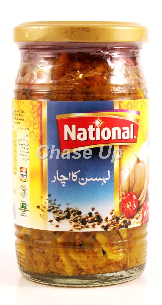 National Garlic Pickle Bottle 310gm
