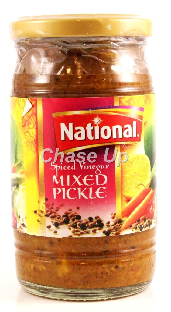 National Mixed Pickle In Vinegar 320gm