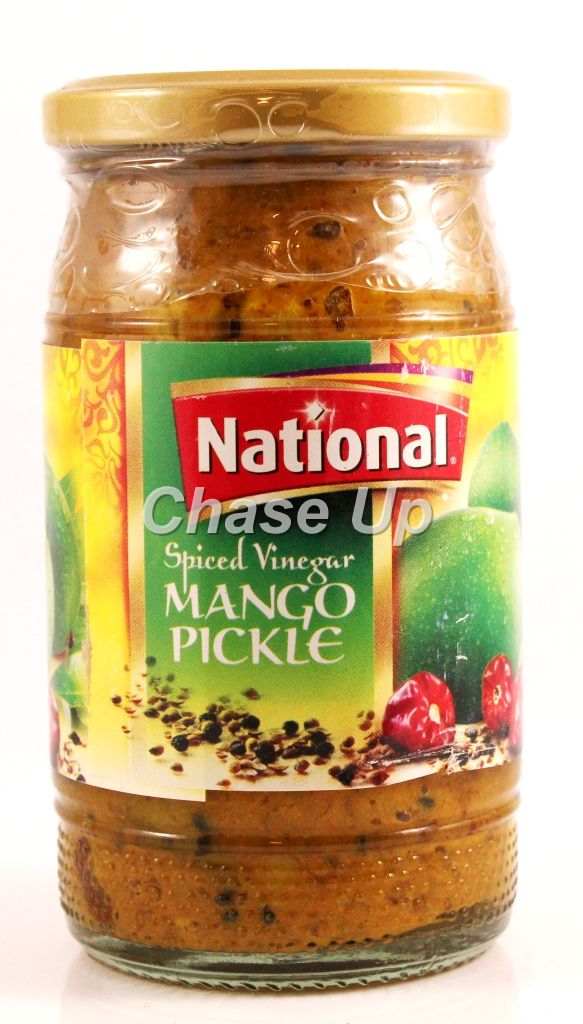 National Mango Pickle In Vinegar 320gm