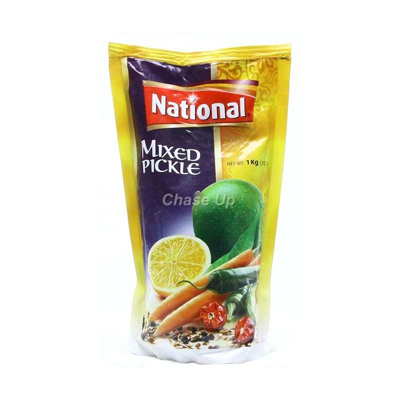 National Mixed Pickle Pouch 1kg