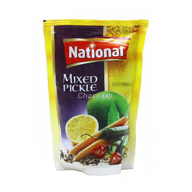 National Mixed Pickle Pouch 180gm