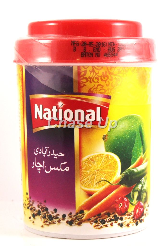 National Hyderabadi Pickle Bottle 400gm
