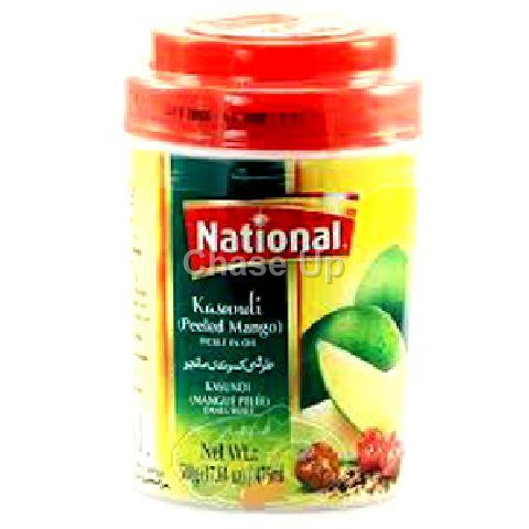 National Kasundi Mango Pickle Jar 400gm