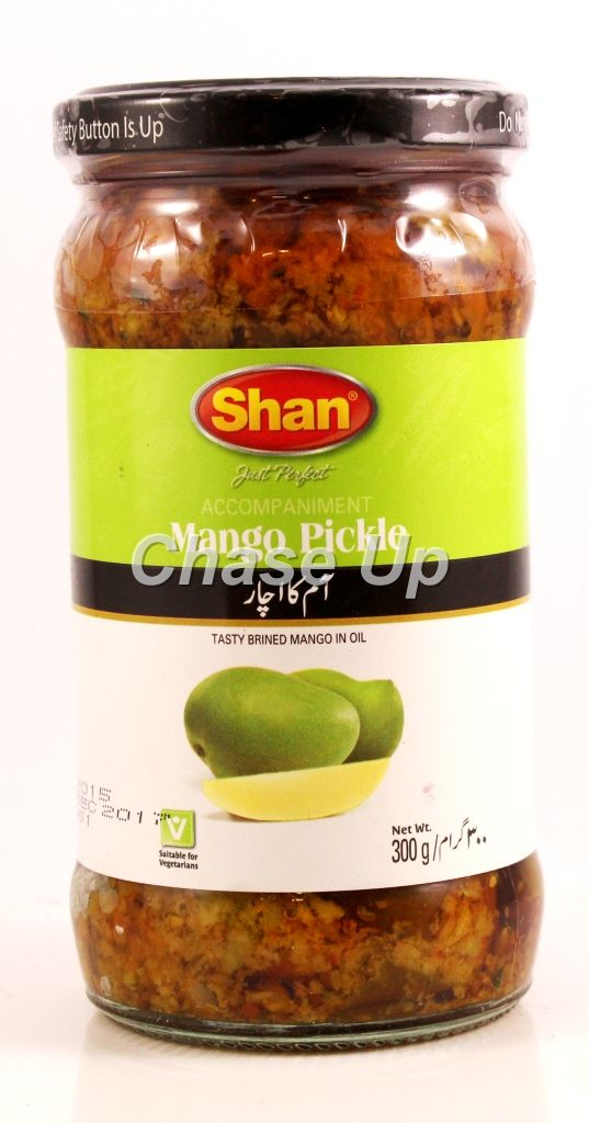 Shan Mango Pickle Bottle 320gm