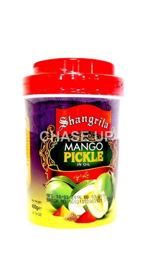 Shangrila Mango Pickle Jar 400gm