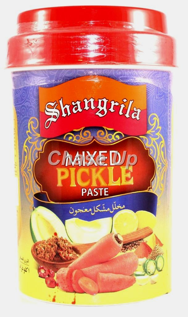 Shangrila Mixed Pickle Paste Jar 1kg