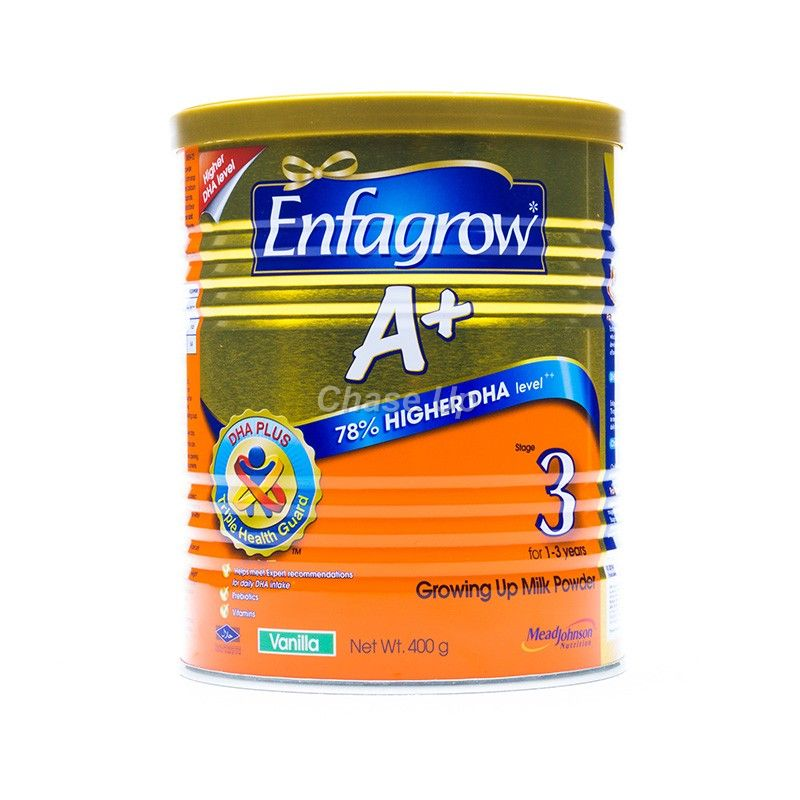 Enfagrow A +3 Baby Milk Powder Tin 400gm