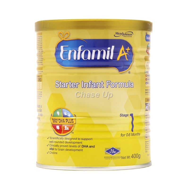 Enfamil A +1 Baby Milk Powder Tin 400gm