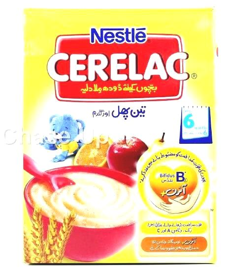 Nestle Cerelac 3 Fruit & Wheat Baby Food 350gm