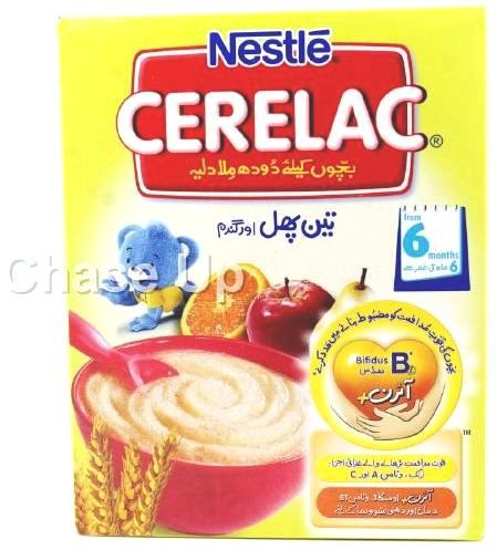 Nestle Cerelac 3 Fruit & Wheat Baby Food 175gm