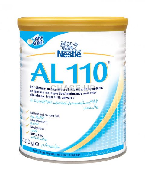 Nestle Al 110 Baby Milk Powder Tin 400gm