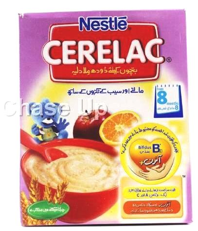 Nestle Cerelac Orange & Apple Baby Food 175gm