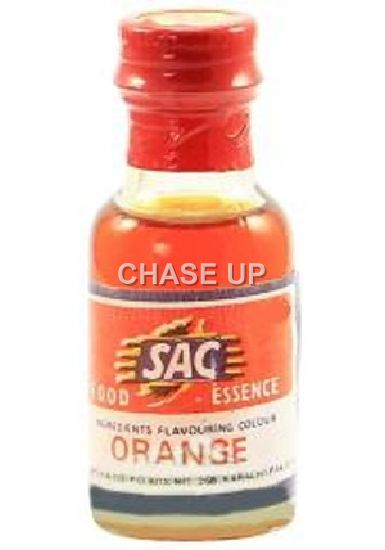 SAC Orange Food Color Bottle