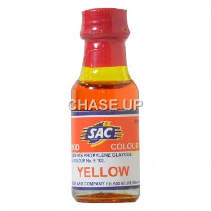 SAC Yellow Food Color Bottle