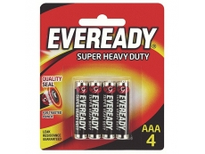 Eveready Cell AAA BP4 Card