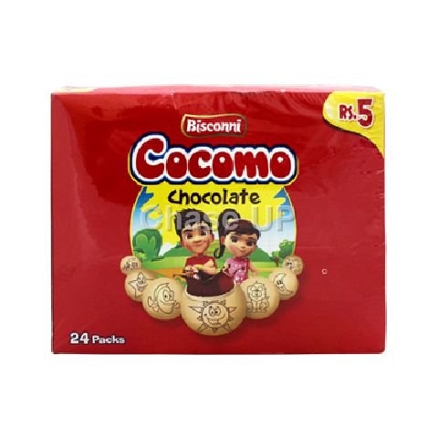 Bisconni Cocomo Biscuit T/P Box 24pcs