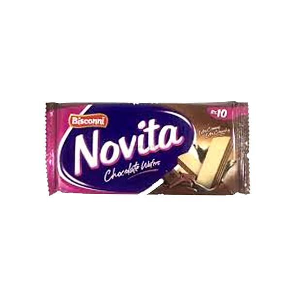 Bisconni Novita Chocolate Wafers 39gm (10)