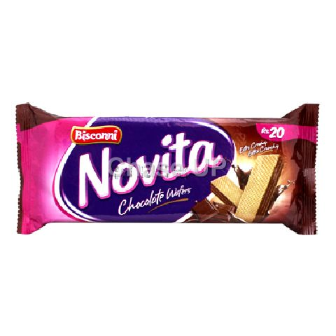 Bisconni Novita Chocolate Wafers 78gm (20)