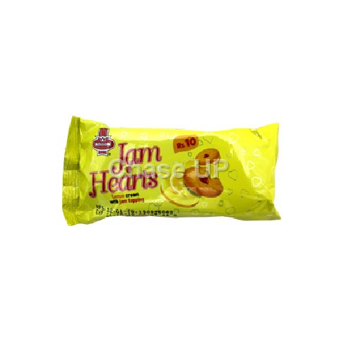 Kolson Jam Heart Lemon Sandwich Biscuit B/P