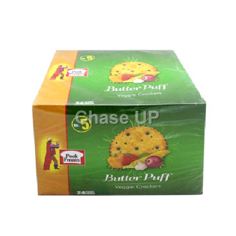 PF Butter Puff Veggi Crackers T/P Box 24pcs