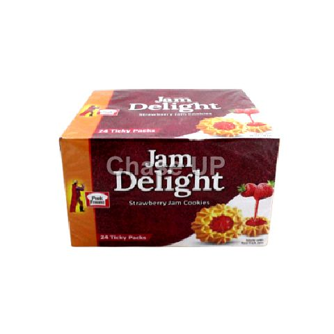 PF Jam Delight Strawberry Jam Cookies T/P Box 24pcs