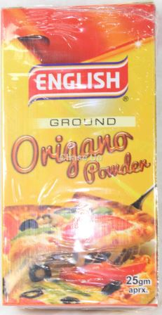 English Oregano Spices 25gm