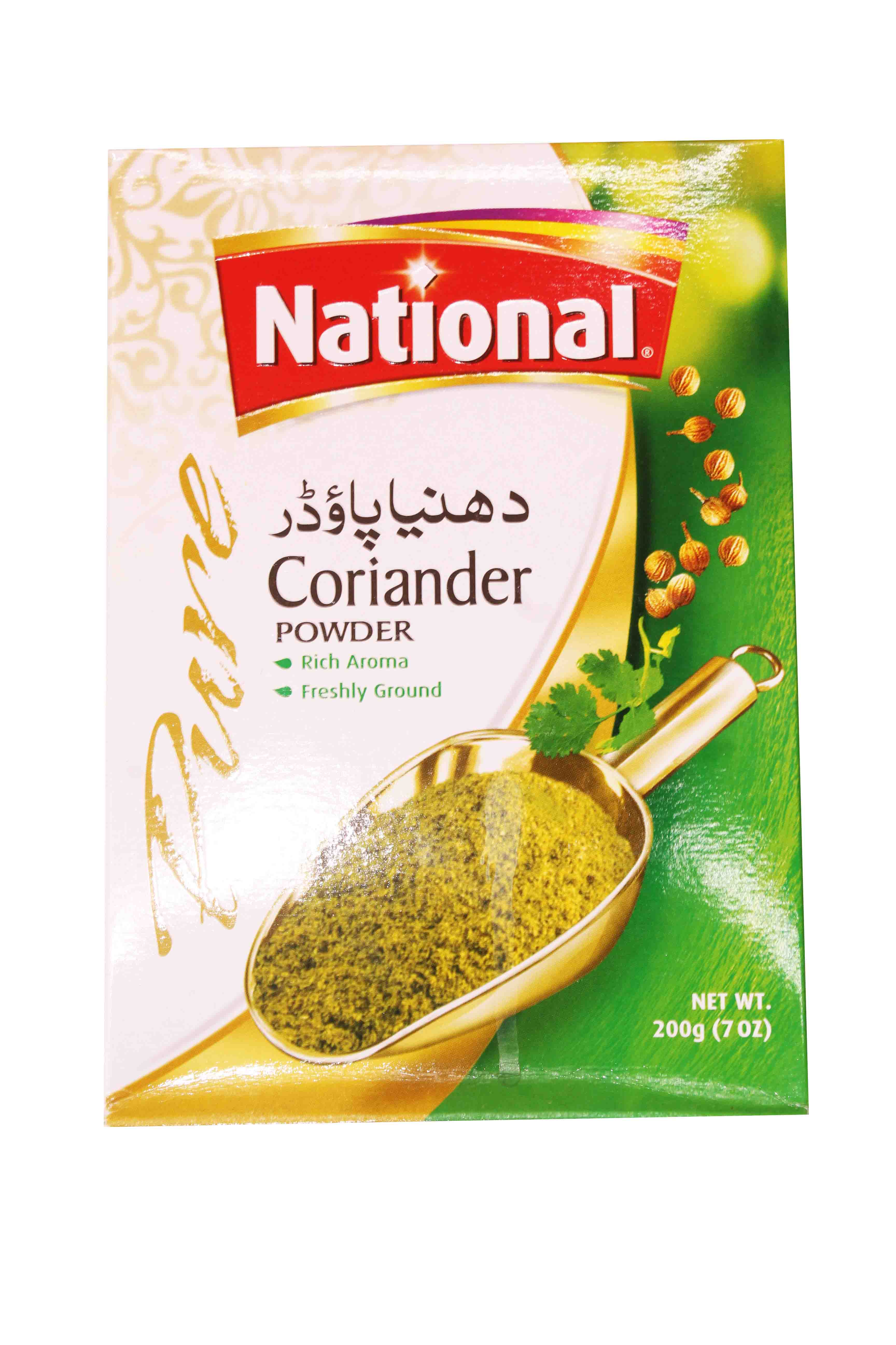 National Corriander Powder Spices 200gm