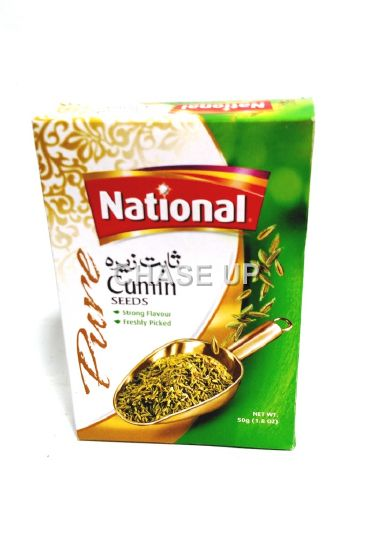 National Cumin Seed Unground Spices 50gm